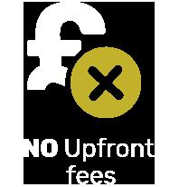 No Upfront Fees